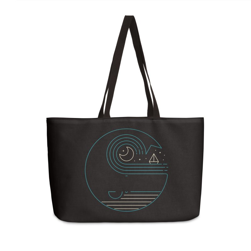 Moonlight Companions Accessories Weekender Bag Bag by thepapercrane's shop