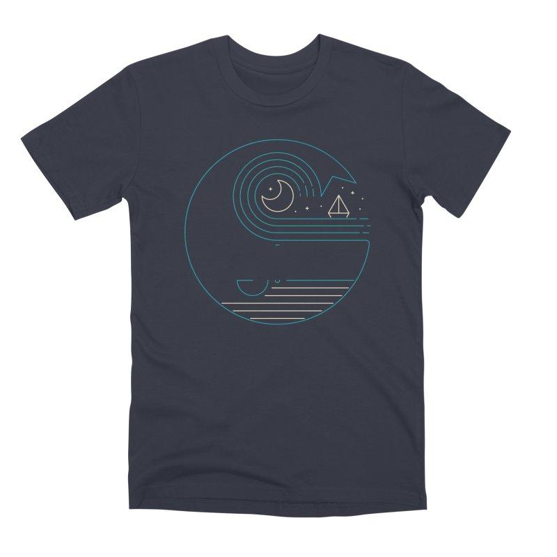 Moonlight Companions Men's Premium T-Shirt by thepapercrane's shop