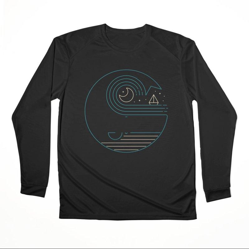 Moonlight Companions Men's Performance Longsleeve T-Shirt by thepapercrane's shop