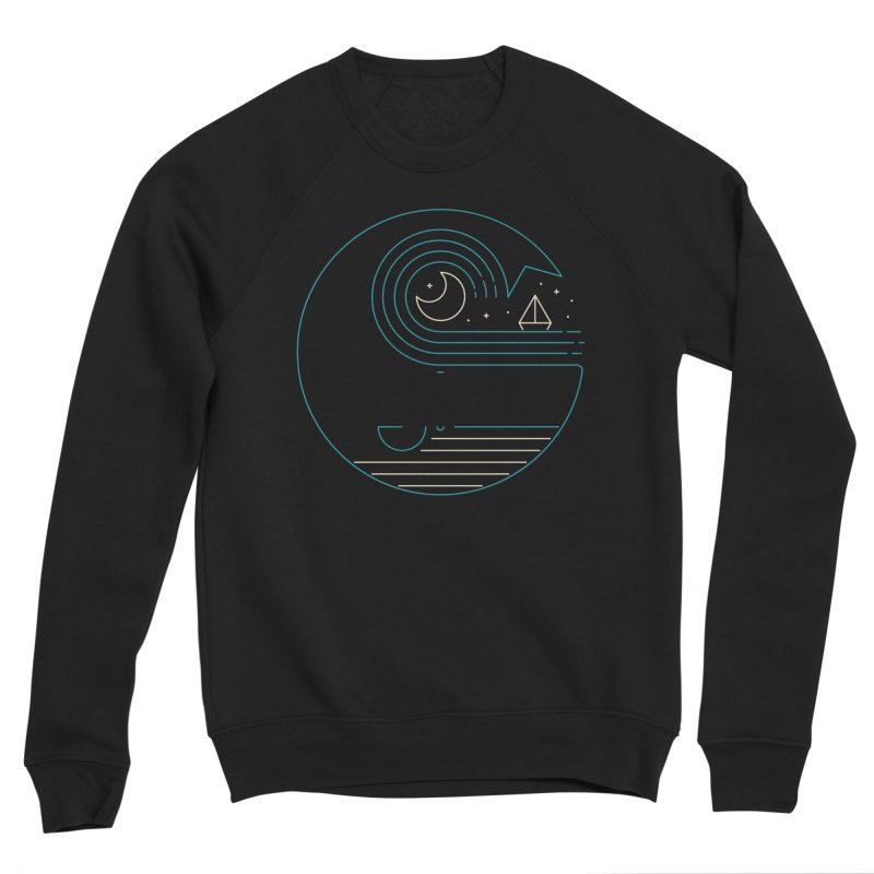 Moonlight Companions Women's Sponge Fleece Sweatshirt by thepapercrane's shop