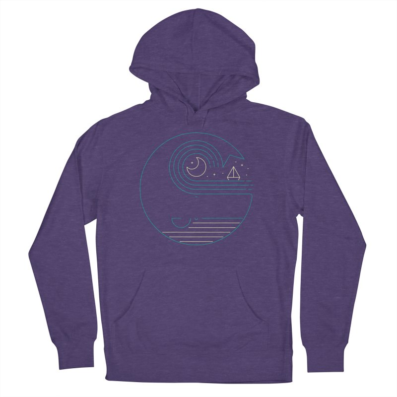 Moonlight Companions Men's French Terry Pullover Hoody by thepapercrane's shop