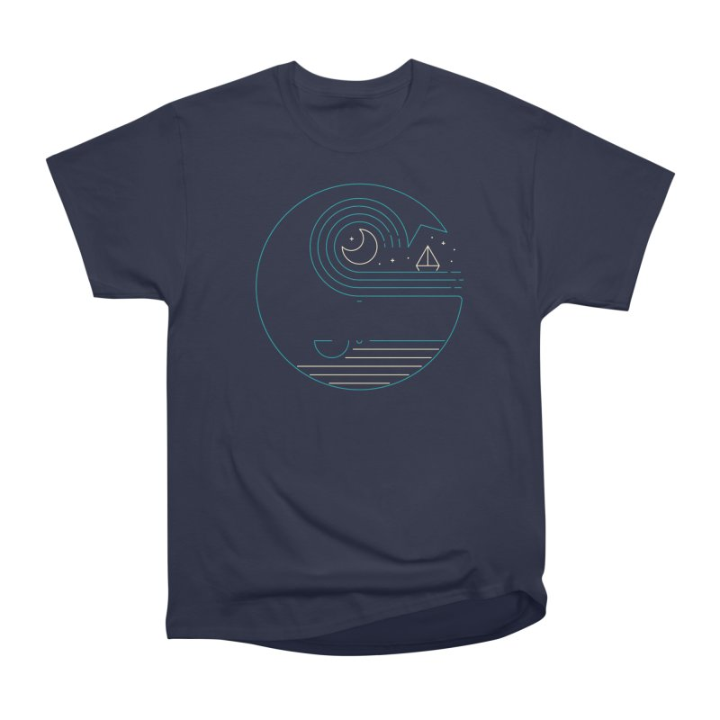 Moonlight Companions Men's Heavyweight T-Shirt by thepapercrane's shop
