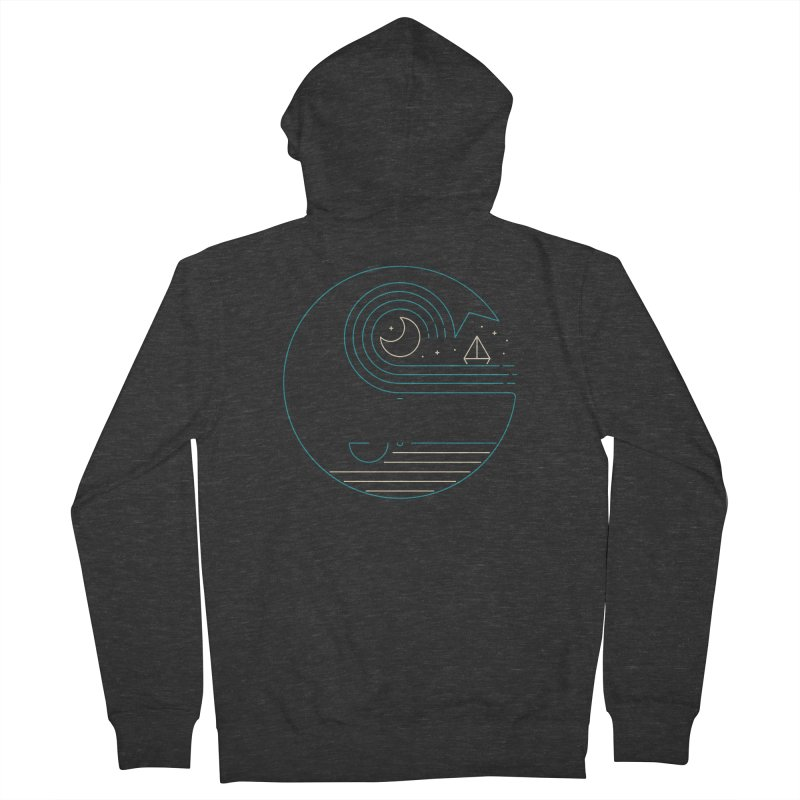 Moonlight Companions Women's French Terry Zip-Up Hoody by thepapercrane's shop