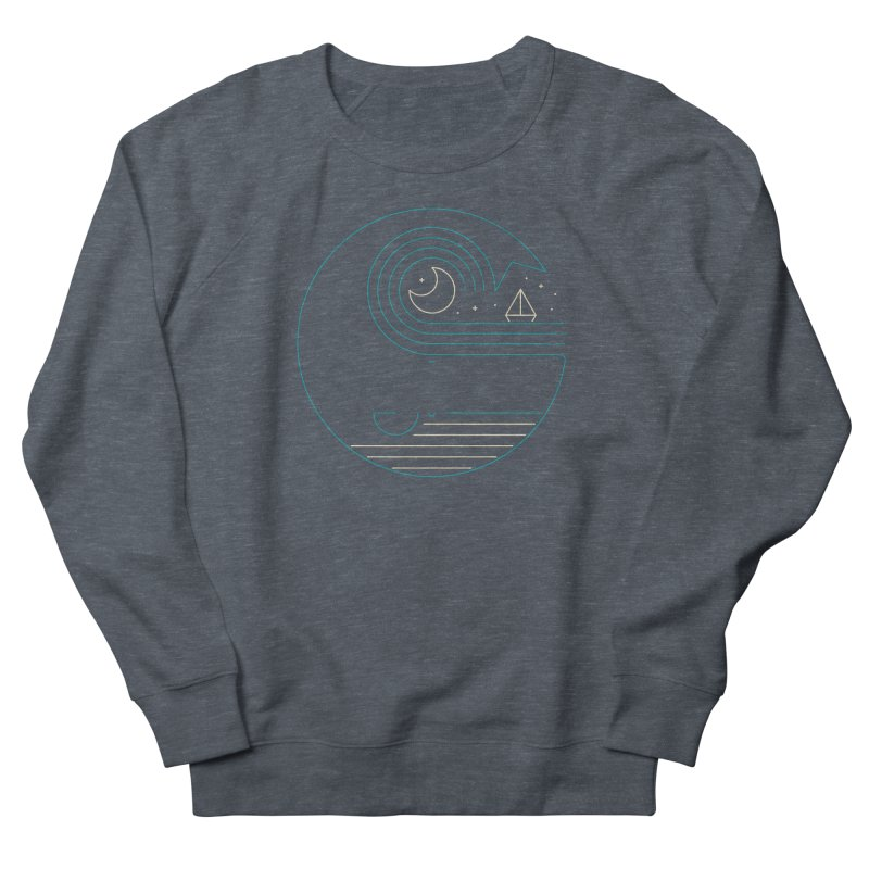 Moonlight Companions Women's French Terry Sweatshirt by thepapercrane's shop
