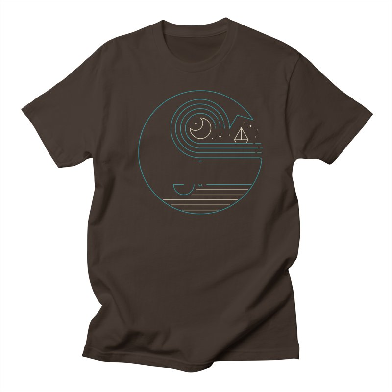Moonlight Companions Men's Regular T-Shirt by thepapercrane's shop
