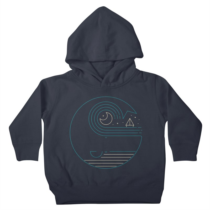 Moonlight Companions Kids Toddler Pullover Hoody by thepapercrane's shop
