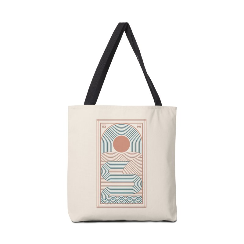 Zen River Accessories Tote Bag Bag by thepapercrane's shop
