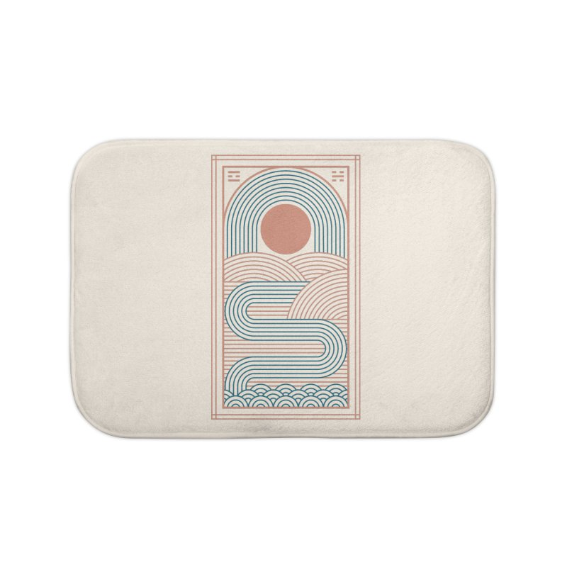 Zen River Home Bath Mat by thepapercrane's shop