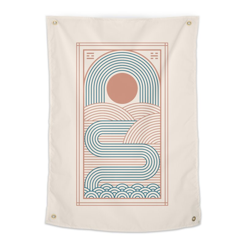Zen River Home Tapestry by thepapercrane's shop