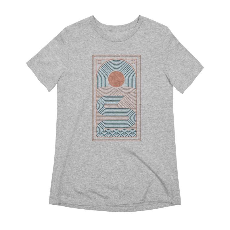 Zen River Women's Extra Soft T-Shirt by thepapercrane's shop