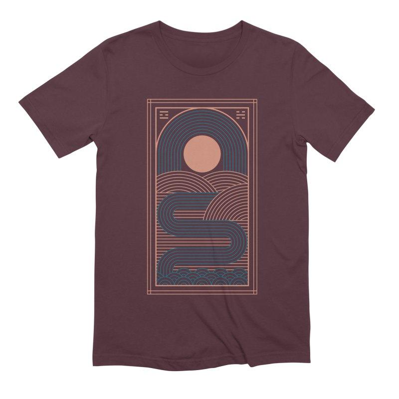 Zen River Men's Extra Soft T-Shirt by thepapercrane's shop