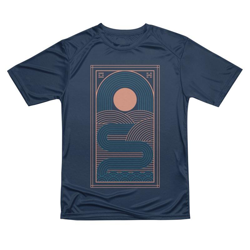 Zen River Men's Performance T-Shirt by thepapercrane's shop