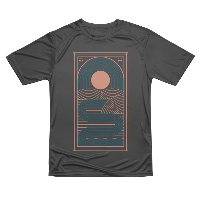 Zen River Women's Performance Unisex T-Shirt by thepapercrane's shop