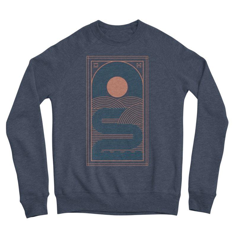 Zen River Men's Sponge Fleece Sweatshirt by thepapercrane's shop