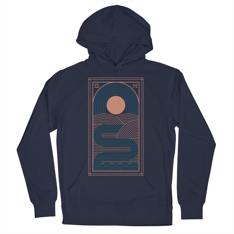 Zen River Women's French Terry Pullover Hoody by thepapercrane's shop