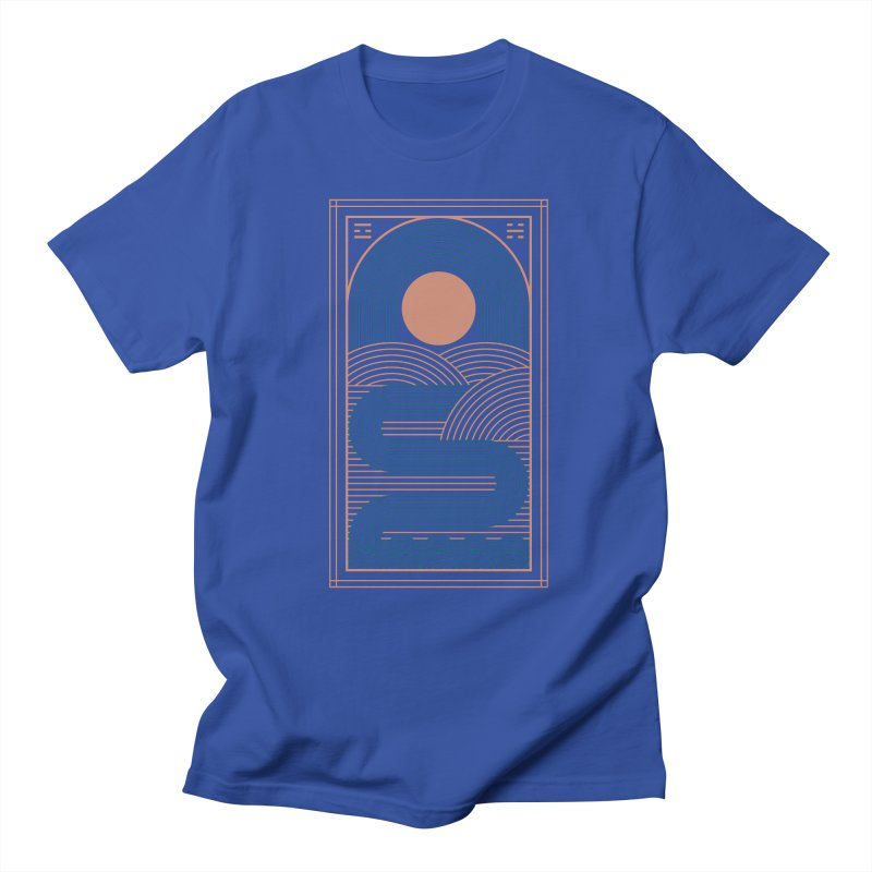 Zen River Men's Regular T-Shirt by thepapercrane's shop