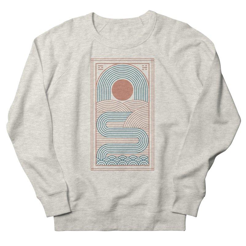 Zen River Women's French Terry Sweatshirt by thepapercrane's shop