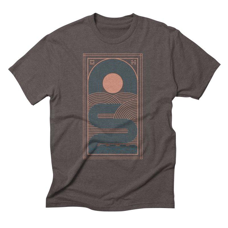 Zen River Men's Triblend T-Shirt by thepapercrane's shop