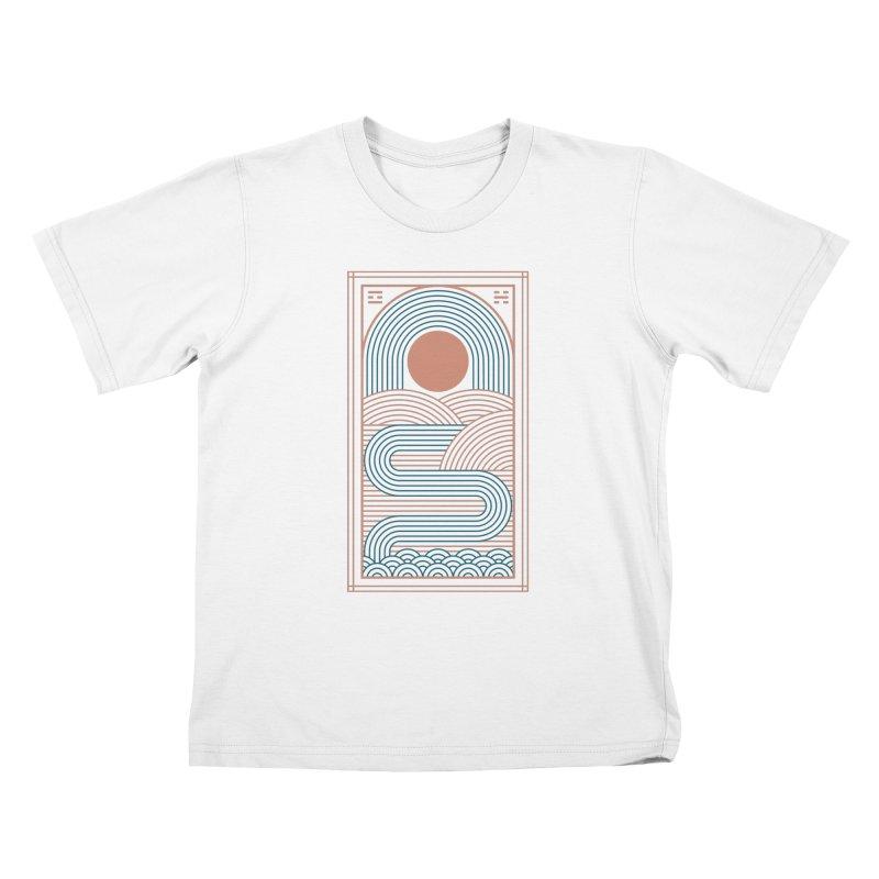 Zen River Kids T-Shirt by thepapercrane's shop