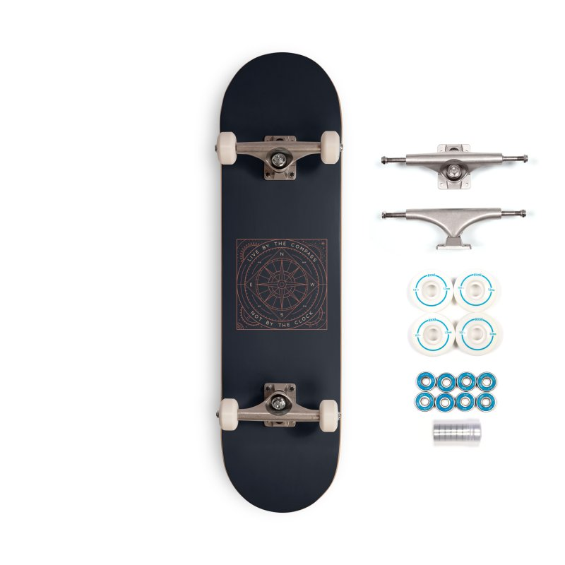 Live By The Compass Accessories Complete - Basic Skateboard by thepapercrane's shop