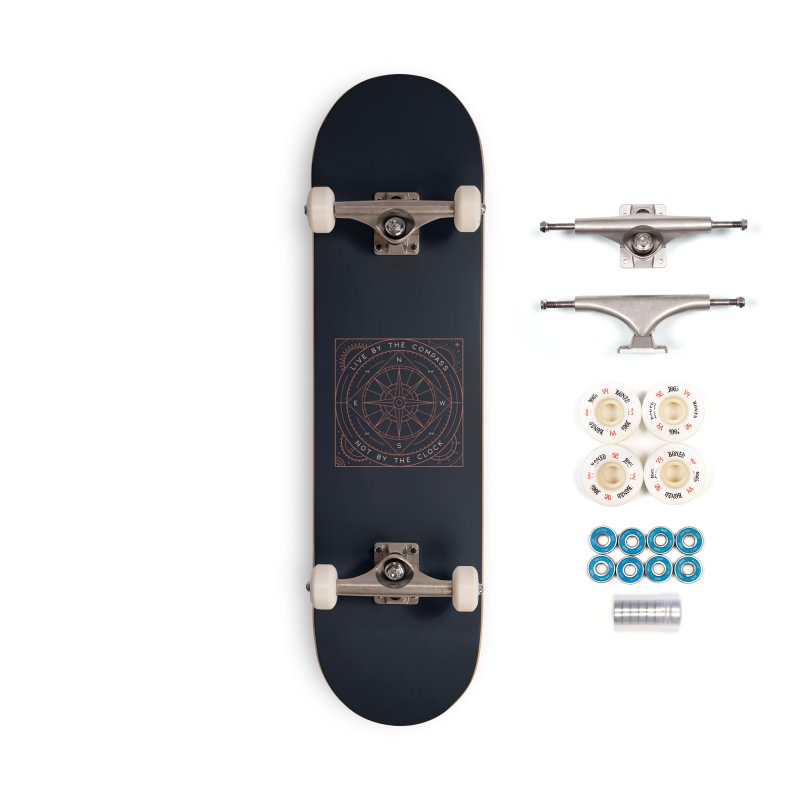 Live By The Compass Accessories Complete - Premium Skateboard by thepapercrane's shop