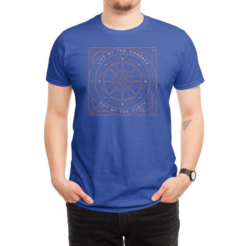Live By The Compass Men's T-Shirt by thepapercrane's shop