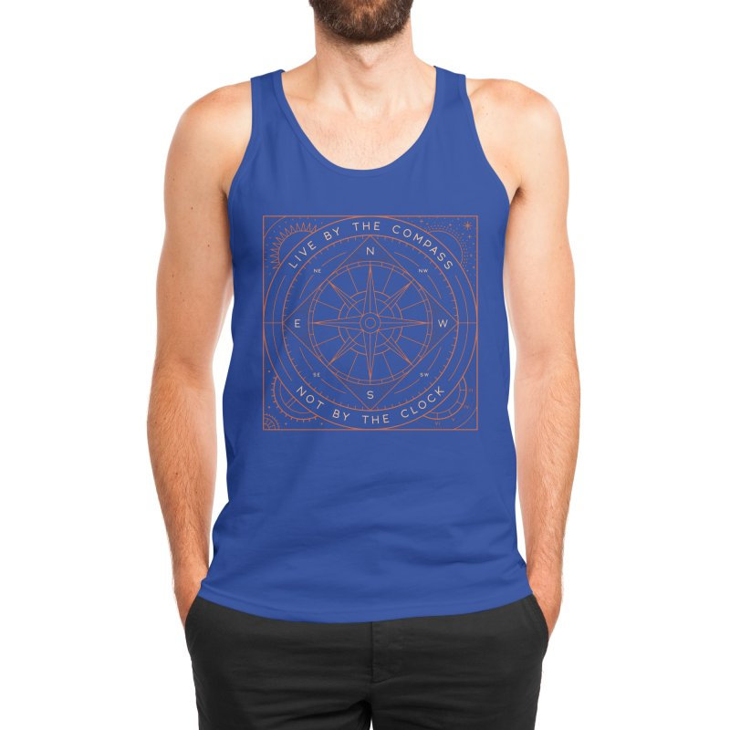Live By The Compass Men's Tank by thepapercrane's shop