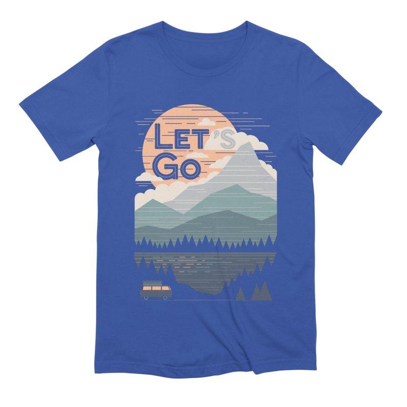Let's Go Men's Extra Soft T-Shirt by thepapercrane's shop
