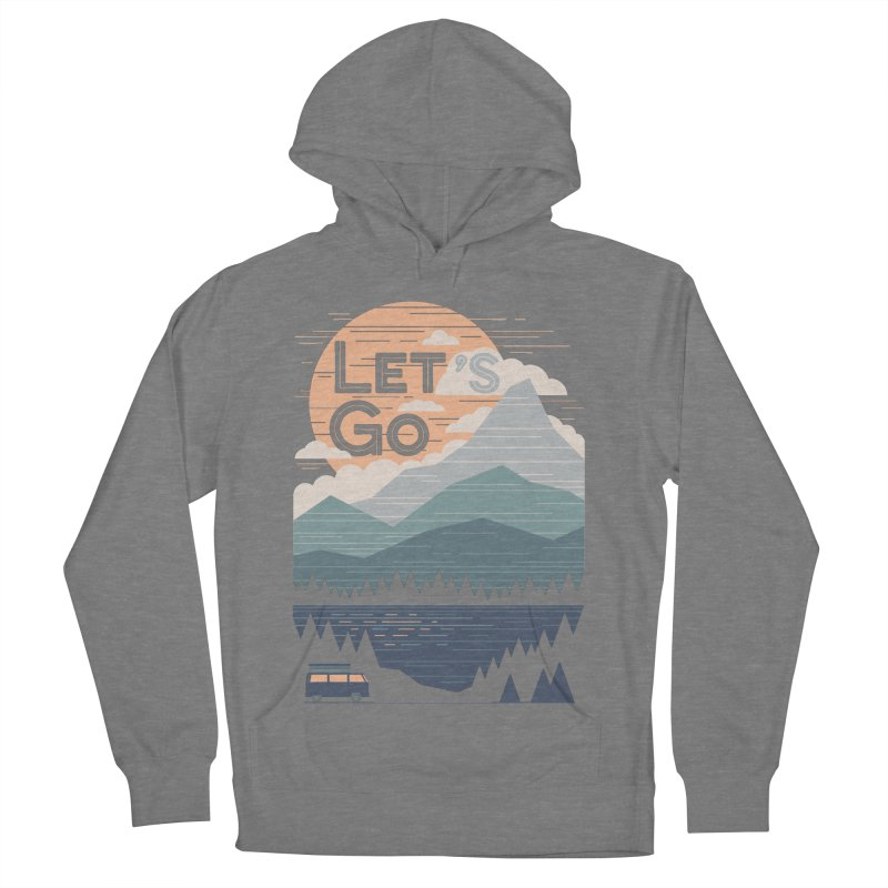 Let's Go Women's French Terry Pullover Hoody by thepapercrane's shop