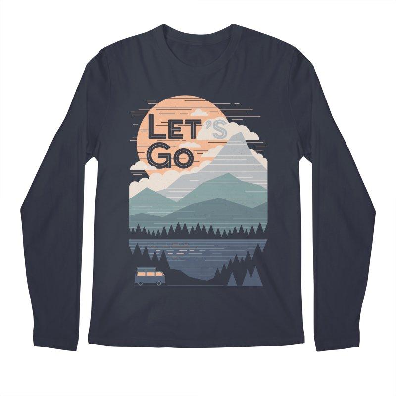 Let's Go Men's Regular Longsleeve T-Shirt by thepapercrane's shop