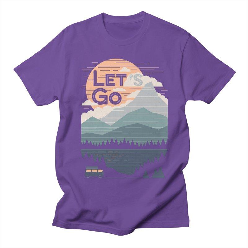 Let's Go Women's Regular Unisex T-Shirt by thepapercrane's shop