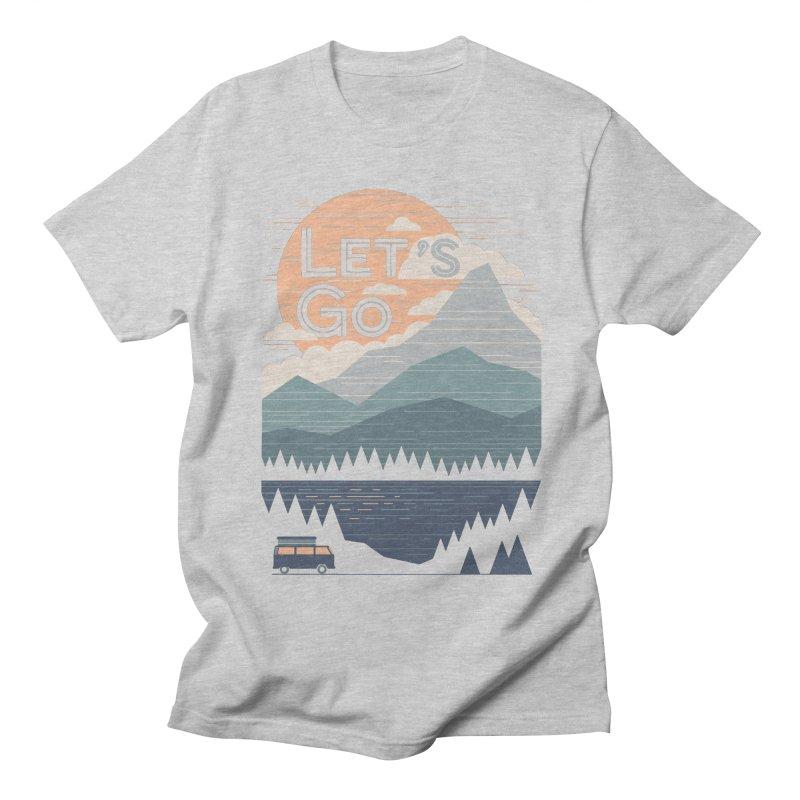 Let's Go Men's Regular T-Shirt by thepapercrane's shop