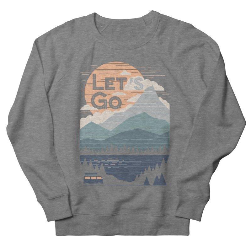 Let's Go Men's French Terry Sweatshirt by thepapercrane's shop