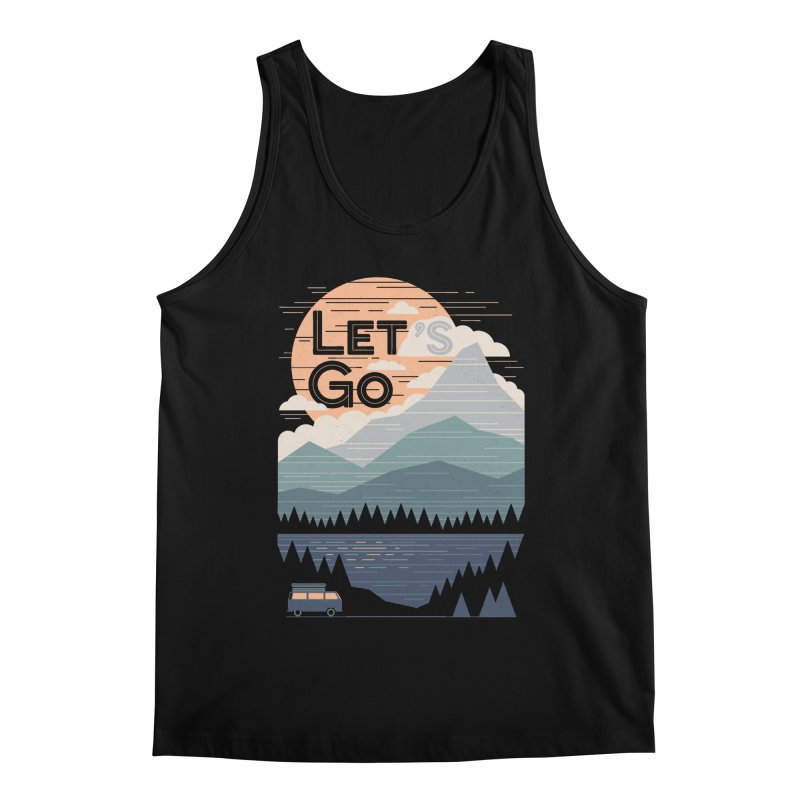Let's Go Men's Regular Tank by thepapercrane's shop