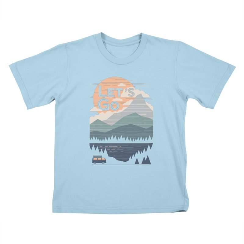 Let's Go Kids T-Shirt by thepapercrane's shop