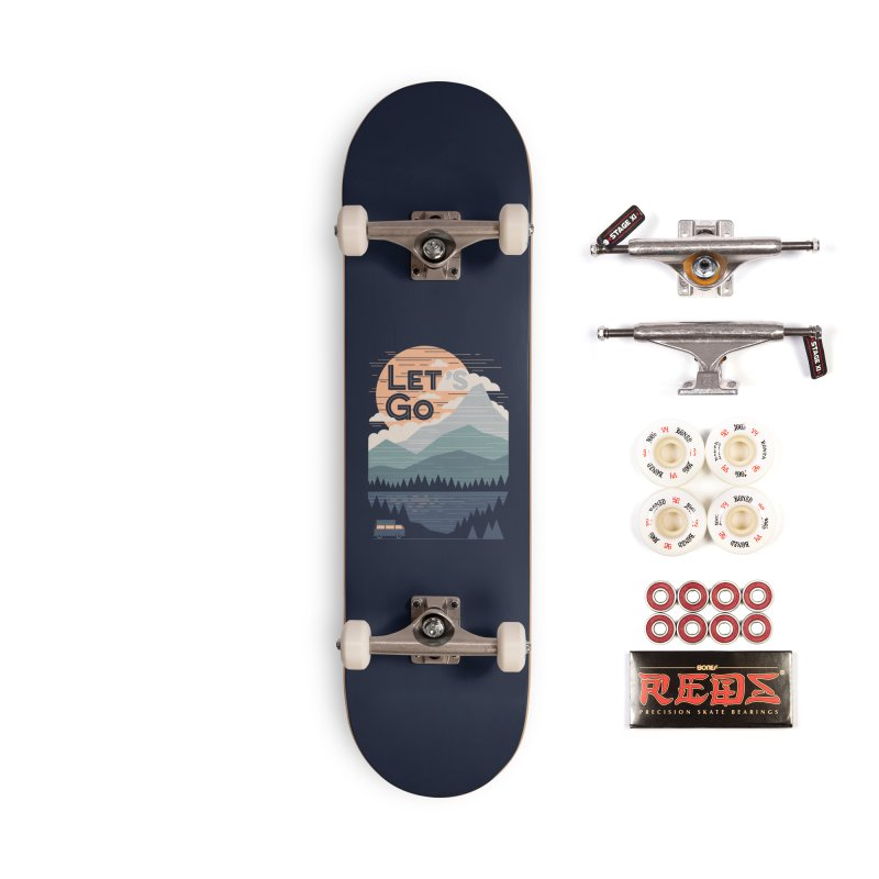 Let's Go Accessories Complete - Pro Skateboard by thepapercrane's shop