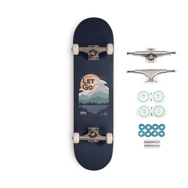 Let's Go Accessories Complete - Basic Skateboard by thepapercrane's shop