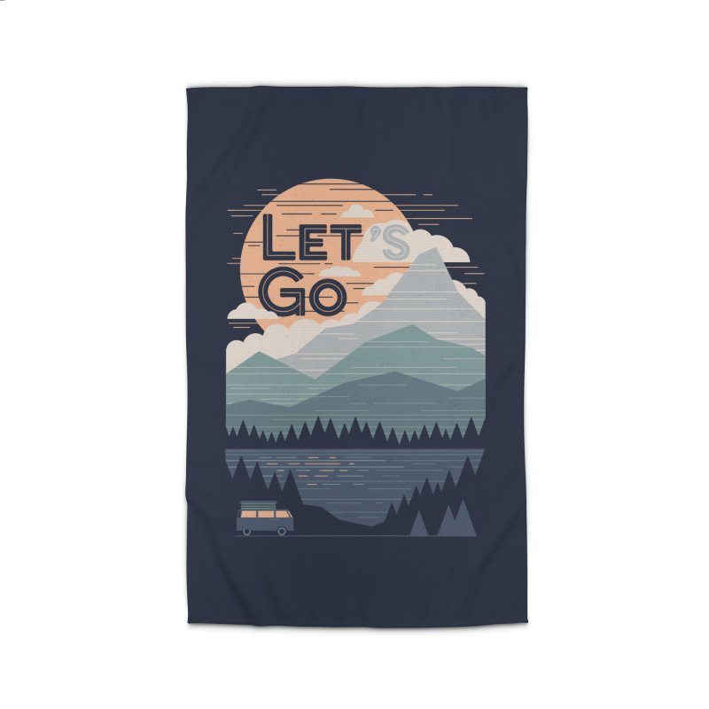 Let's Go Home Rug by thepapercrane's shop