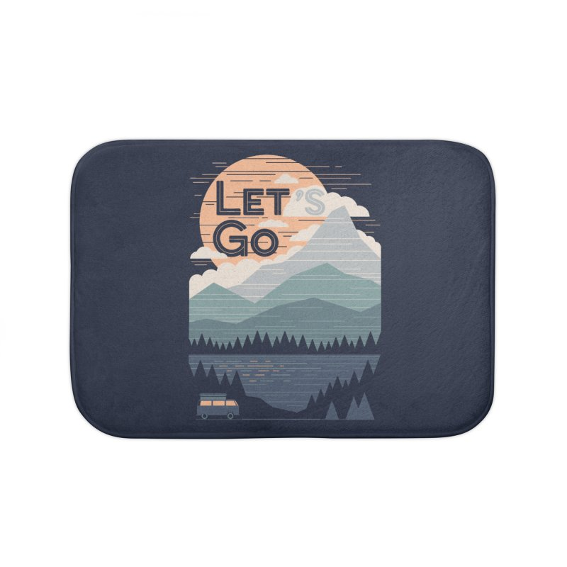 Let's Go Home Bath Mat by thepapercrane's shop