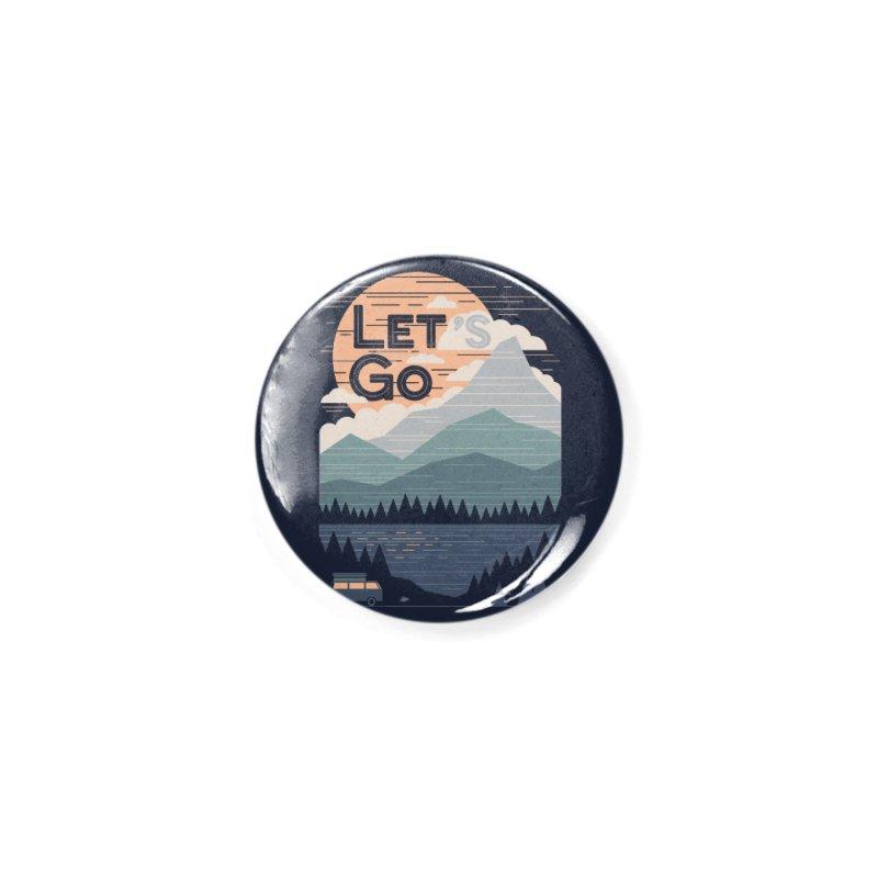 Let's Go Accessories Button by thepapercrane's shop