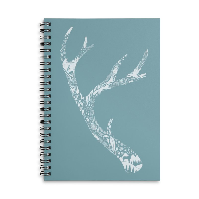 Tracks And Signs Accessories Lined Spiral Notebook by thepapercrane's shop