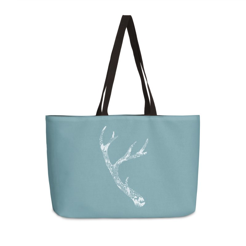 Tracks And Signs Accessories Weekender Bag Bag by thepapercrane's shop