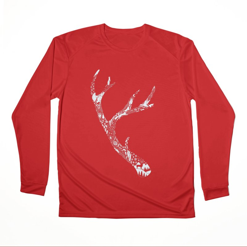 Tracks And Signs Men's Performance Longsleeve T-Shirt by thepapercrane's shop