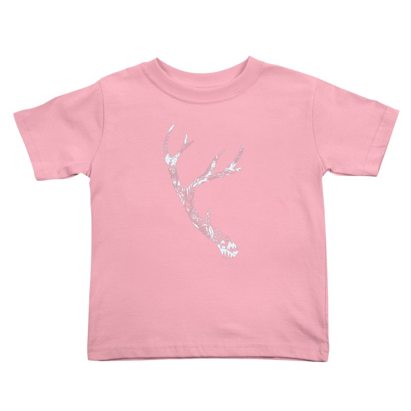 Tracks And Signs Kids Toddler T-Shirt by thepapercrane's shop