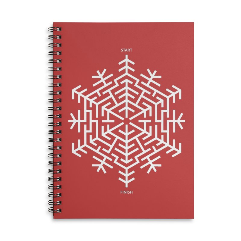 An Amazing Christmas Accessories Lined Spiral Notebook by thepapercrane's shop