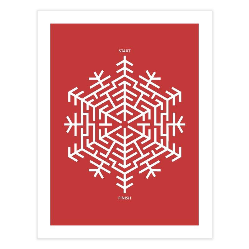 An Amazing Christmas Home Fine Art Print by thepapercrane's shop