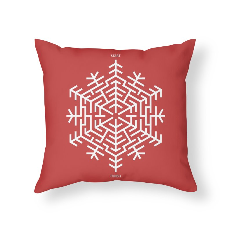 An Amazing Christmas Home Throw Pillow by thepapercrane's shop