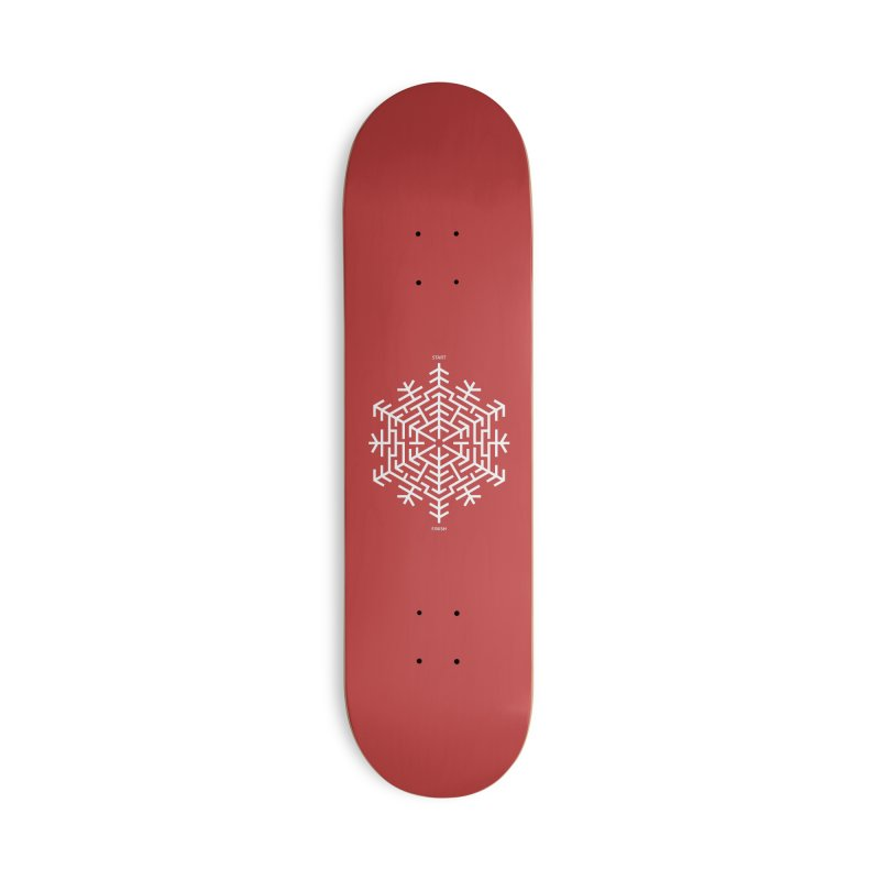 An Amazing Christmas Accessories Deck Only Skateboard by thepapercrane's shop