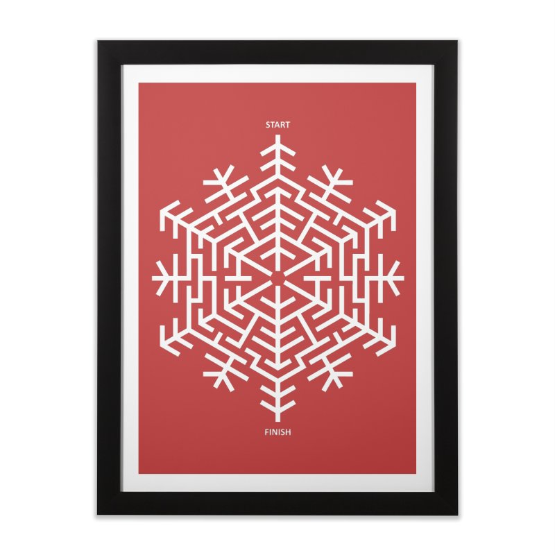 An Amazing Christmas Home Framed Fine Art Print by thepapercrane's shop