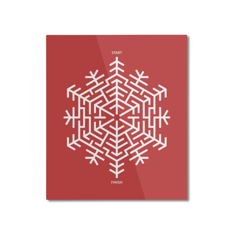 An Amazing Christmas Home Mounted Aluminum Print by thepapercrane's shop
